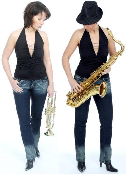 Neue Saxophonistin