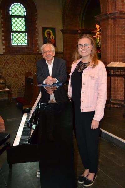 Souly-Duett in der St. Josef Kirche Verden