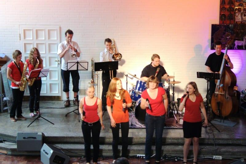 Auftritt beim Kirchentag in Bremen
