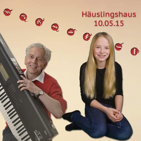 Marie und Gert im Häuslingshaus