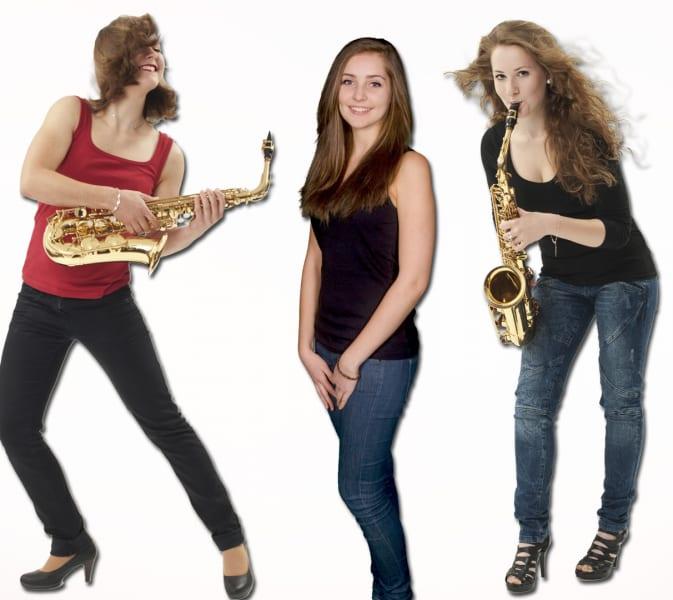 Drei neue Musikstudentinnen von Souly