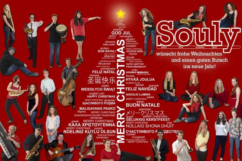 Weihnachtsgrüße von Souly