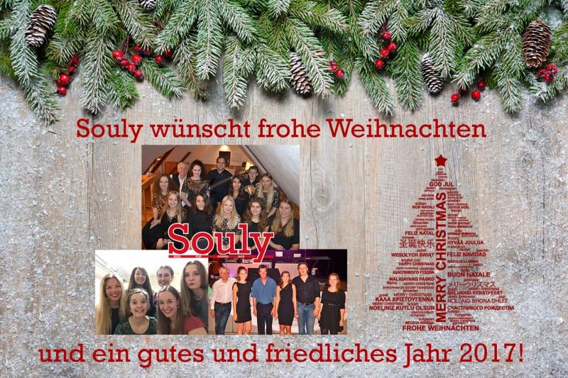 Weihnachtswünsche von Souly